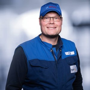 Hartwig Heyer: Fachhelfer Bad/Heizung/Service, im Unternehmen seit 04/2019