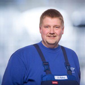 Klaus Lüneburg: Monteur Bad/Service, im Unternehmen seit 1986