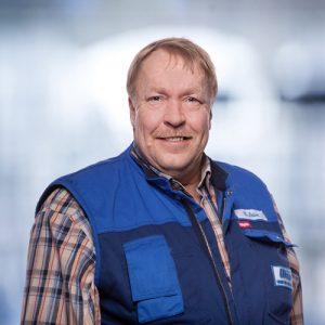 Wolfgang Neise: Monteur Bad/Service, im Unternehmen seit 1980