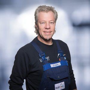Rüdiger Schotte: Monteur Heizung/Service, im Unternehmen seit 1994