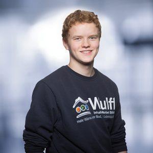 Lucas Stasinski: Auszubildender als Anlagenmechaniker für Sanitär-, Heizungs- und Klimatechnik, im Unternehmen ab 08/2017